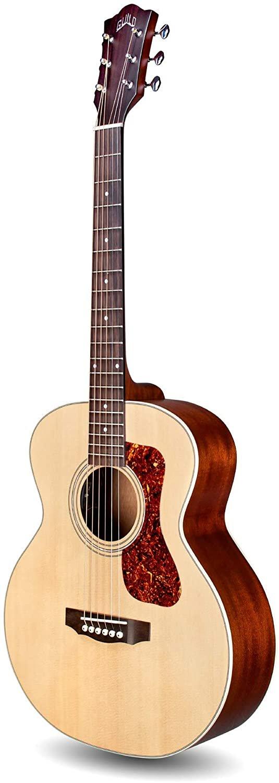 Guild Jumbo Junior Mahogany Acoustic-Electric Guitar Natural