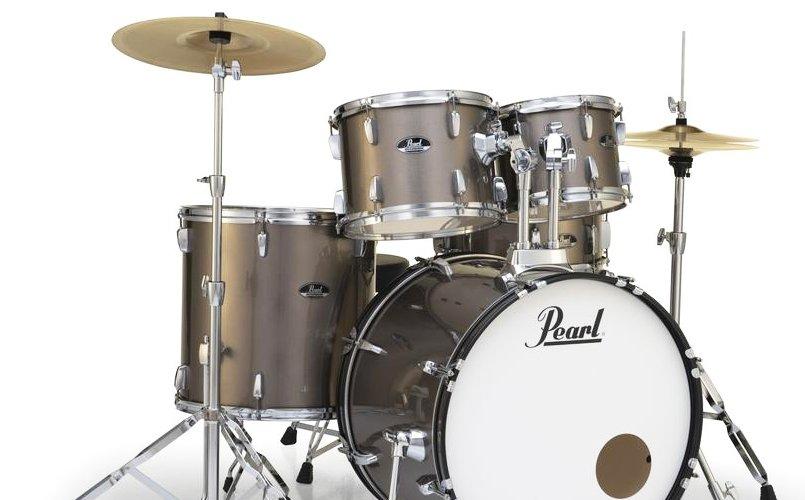 Pearl Roadshow-5-Piece set w/ Hardware-Bronze Metallic