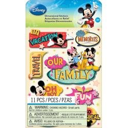 Disney Mickey Family Dimensional Stickers