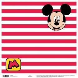 Mickey Red Stripes