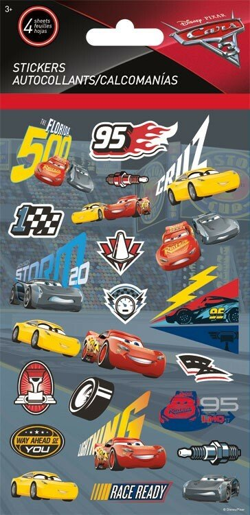 Disney Cars 3 Stickers