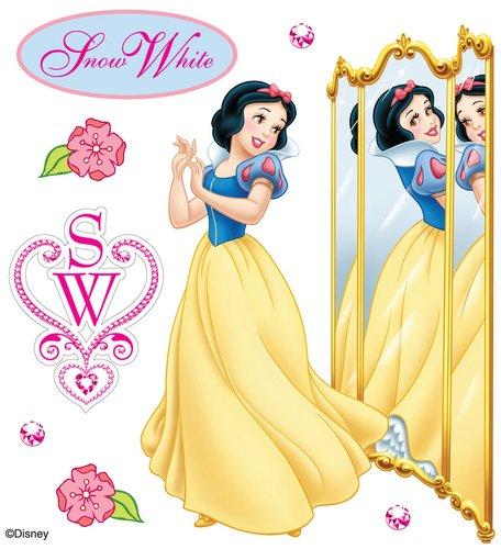 Disney Snow White Reflection