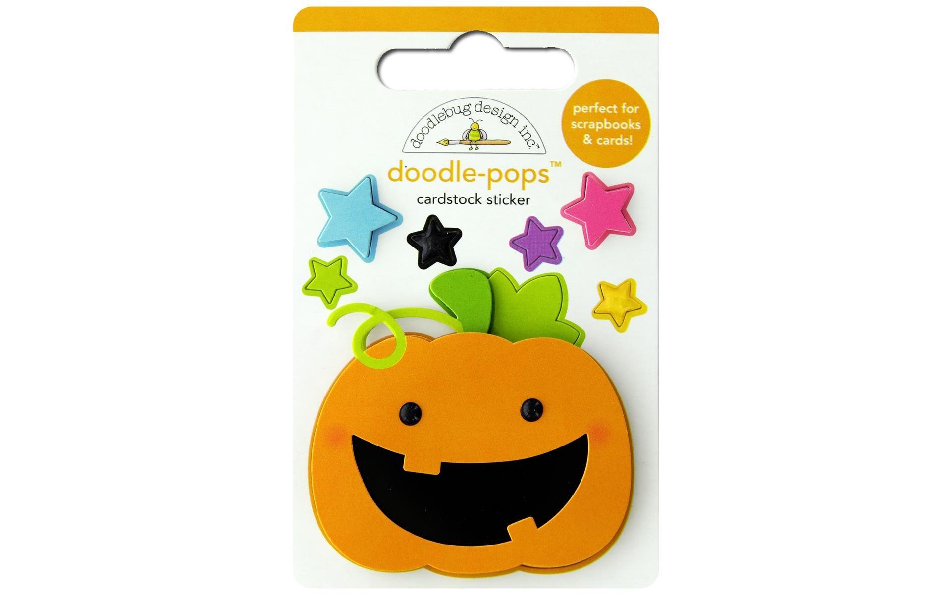 Doodlebug Doodle-Pops 3D Stickers-Jack, Candy Carnival