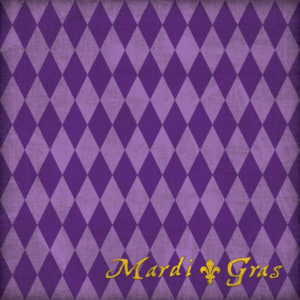 Mardi Gras Purple