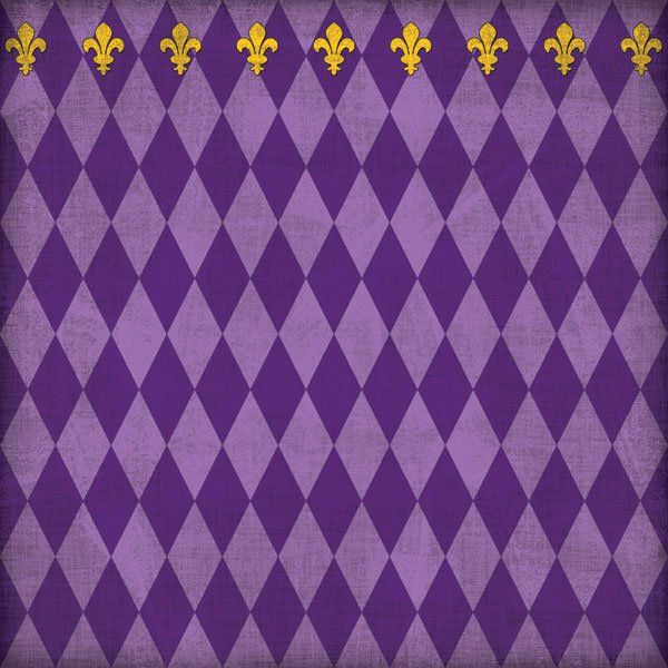 Mardi Gras Companion Purple