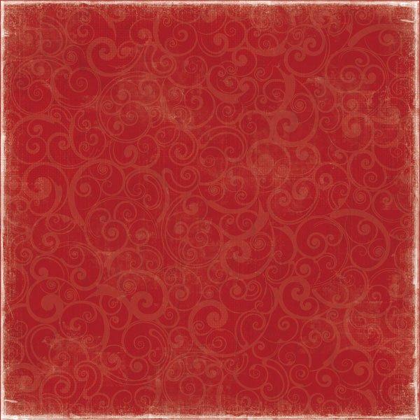 Red Swirl - Winter Fun