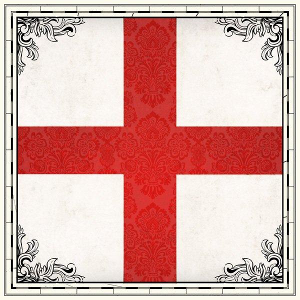 England - Sightseeing Flag