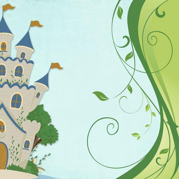 Fairy Tale Castle Right
