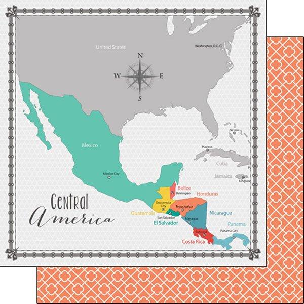 Central America Memories Map