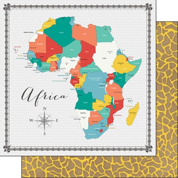 Africa Memories Map