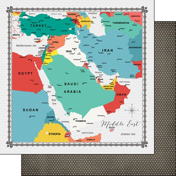 Middle East Memories Map