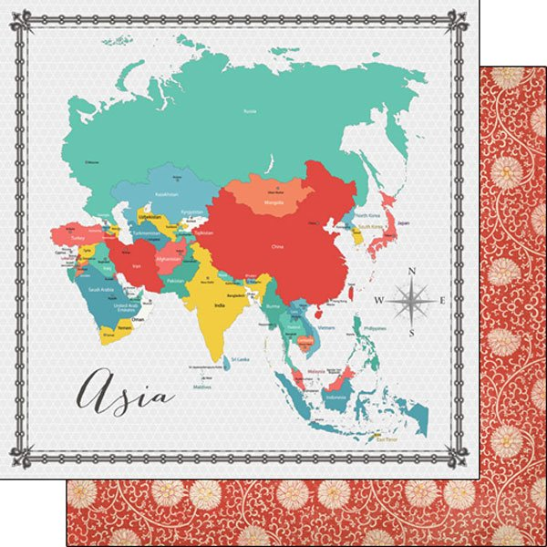 Asia Memories Map