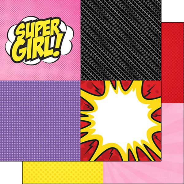 Comic Girl Squares Ds