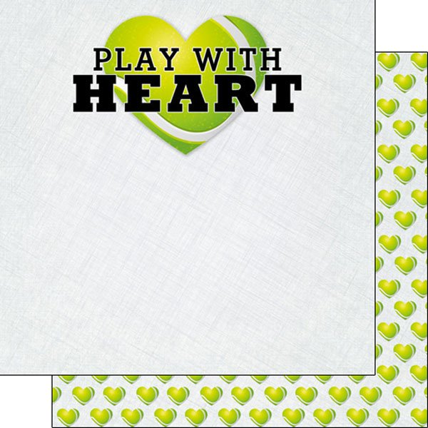 Tennis Play With Heart