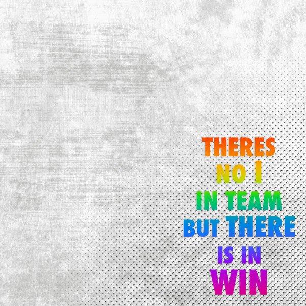 Win - Neon Quote