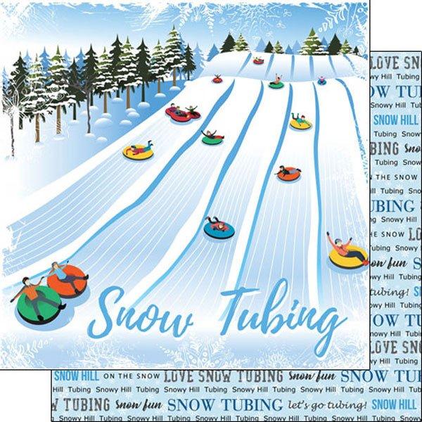 Sledding Winter Adventure