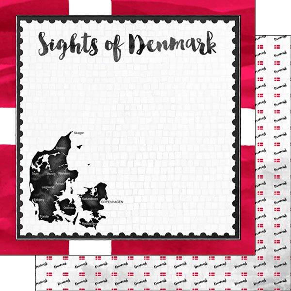 Denmark Flag Sights