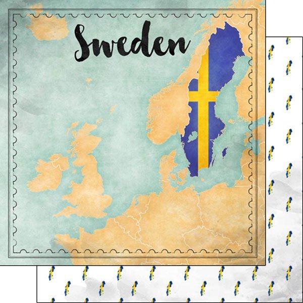 Sweden Map Sights