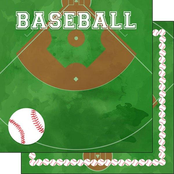 Baseball Watercolor