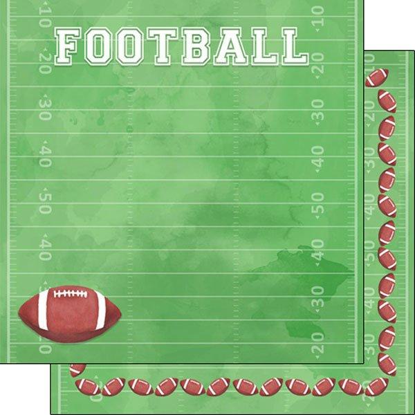 Football Watercolor