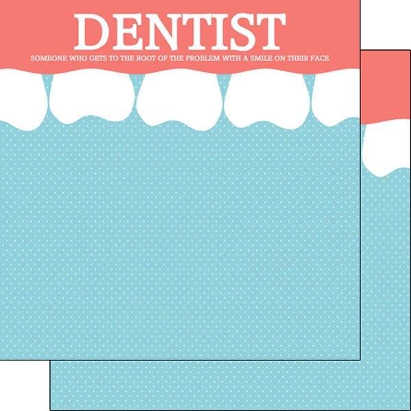 Dentist Teeth Border Double Sided