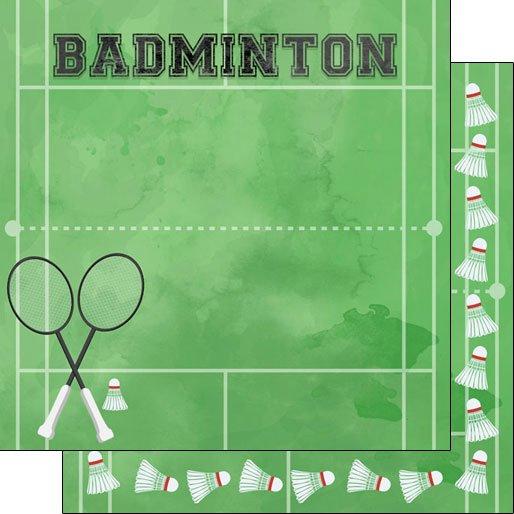 Badminton Watercolor
