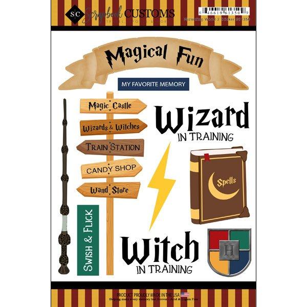 Wizarding World 2 Stickers