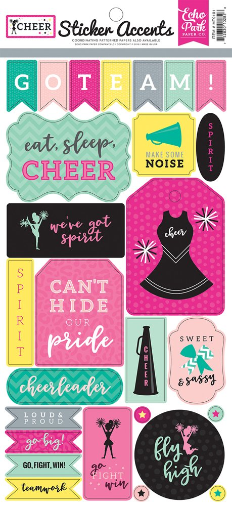 Ep Cheer Stickers