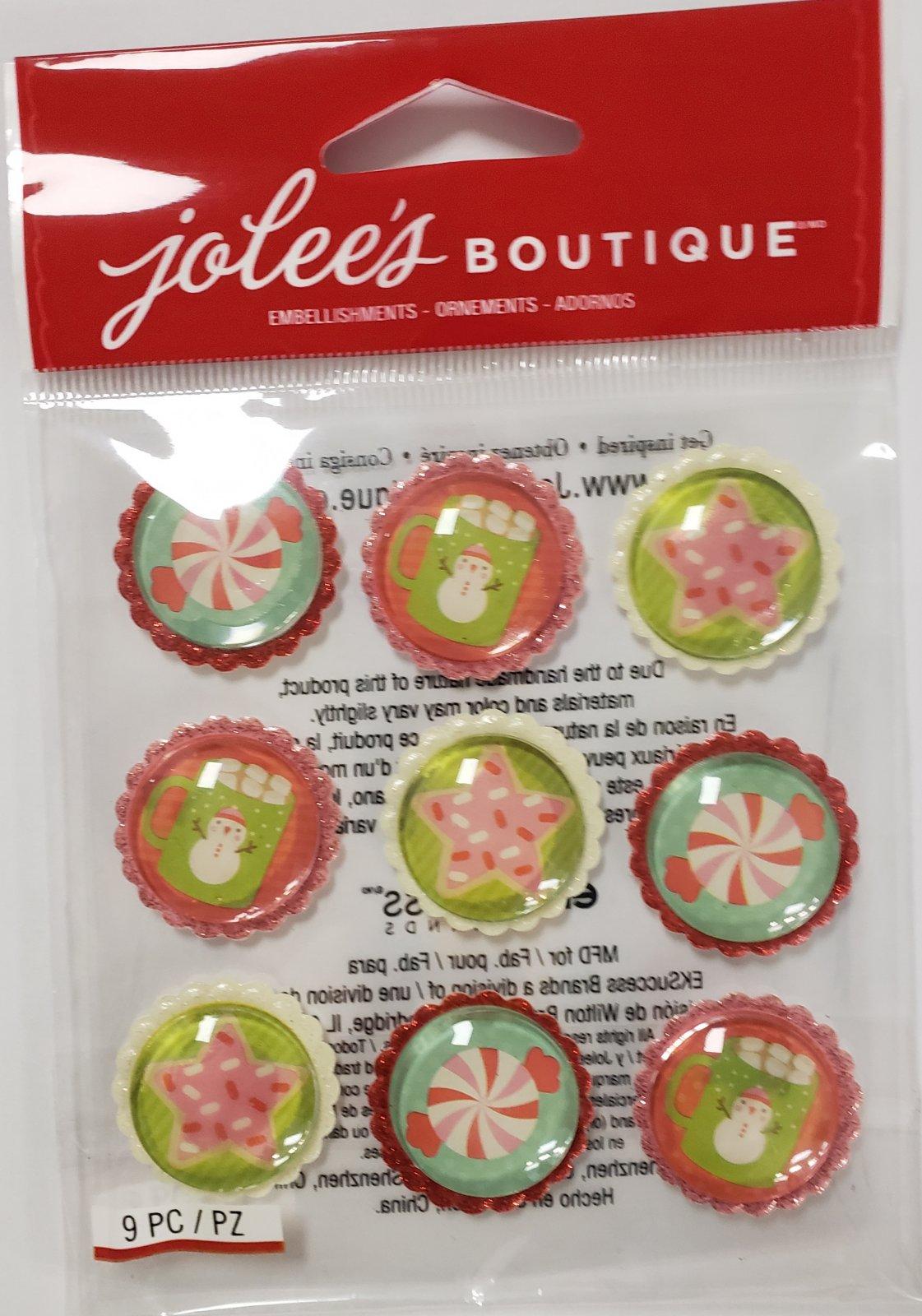 Jolee'S Christmas Sweet Treat Baubles