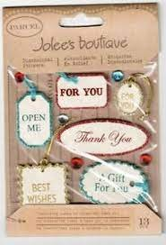 Jolees Boutique Vintage Gift Tags