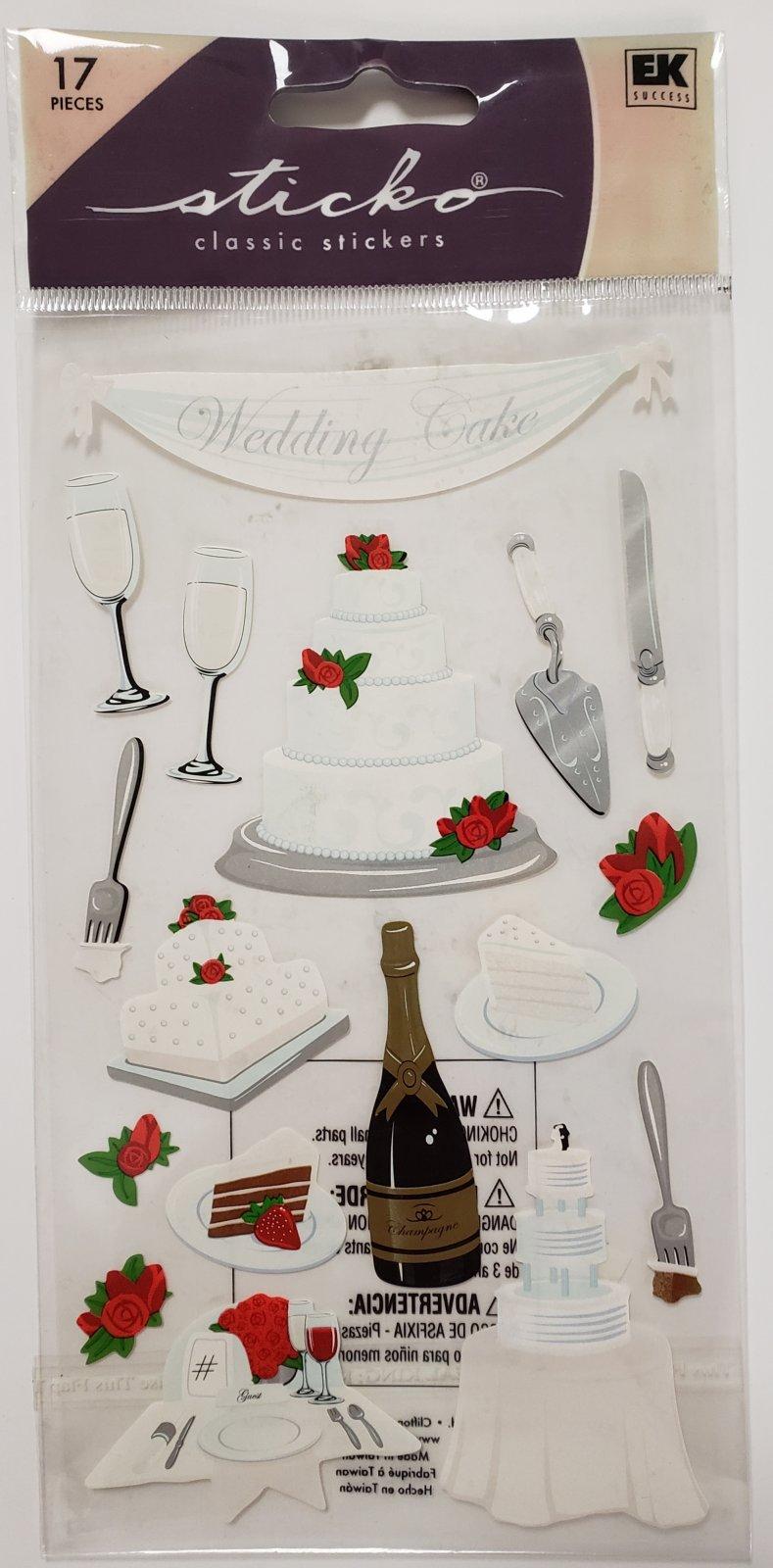 Sticko Wedding Cake