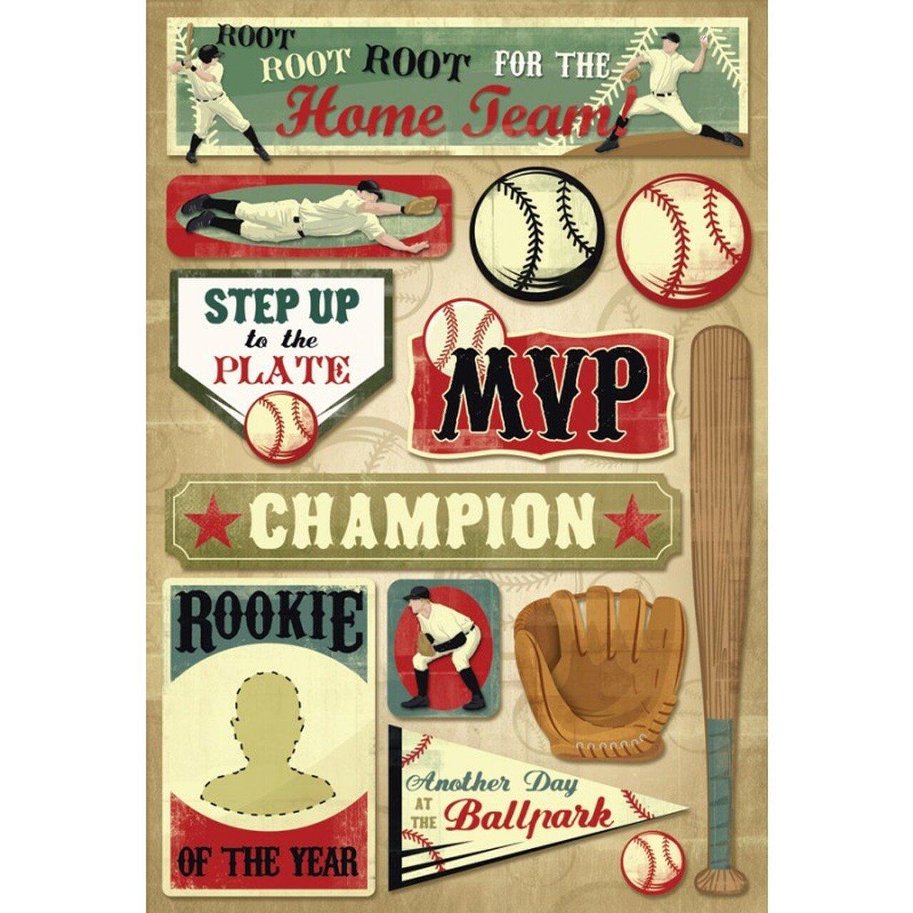 Kf- Baseball Root For The Home Team