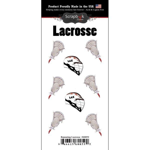 Scrapbook Customs Lacrosse