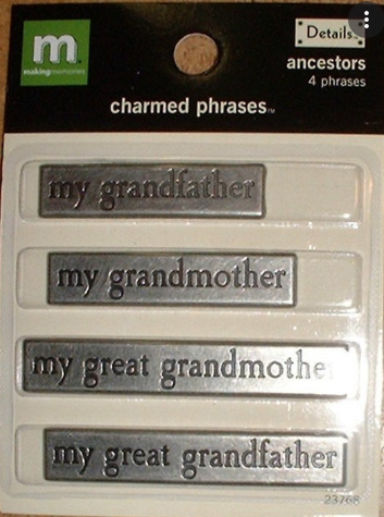Family Grandparents Charms