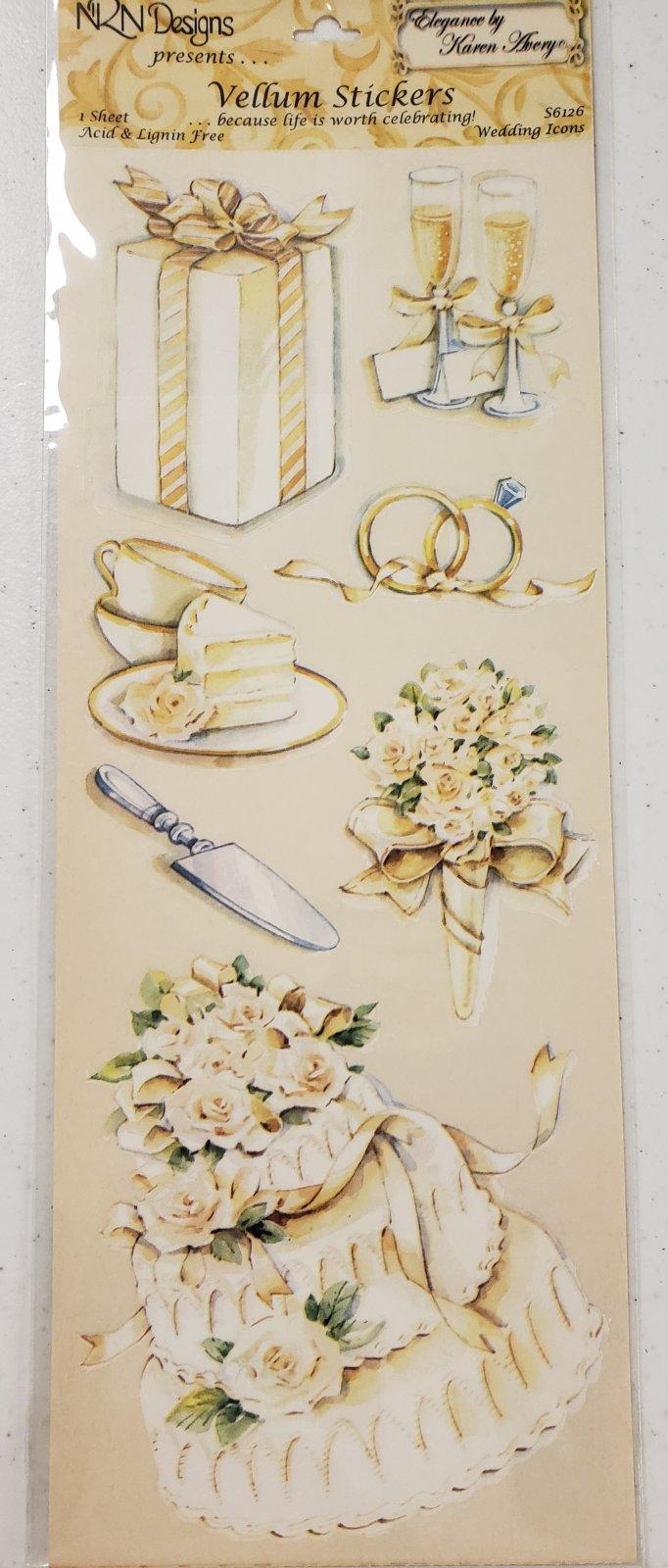 Nrn Designs Wedding Icons