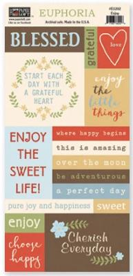 Paper Loft Enjoy Sayings