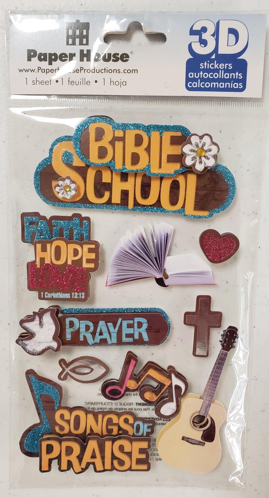 Paper House - Bible School