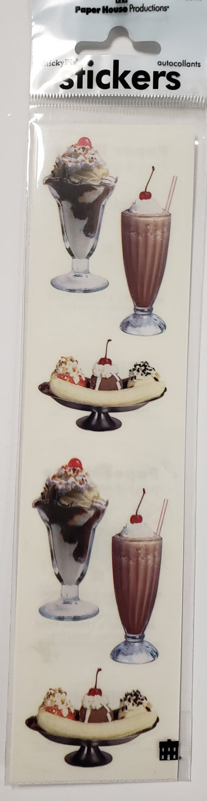 Paper House Ice Cream Sundaes
