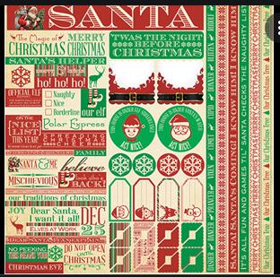 Reminisce Christmas Santa