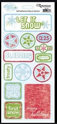 Reminisce Let it Snow Stickers