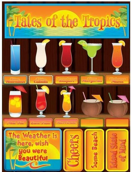 Reminisce Drinks Tales Of The Tropics