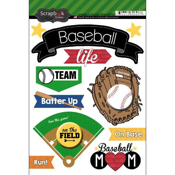 Sbc Baseball Life Doo Dads Sticker