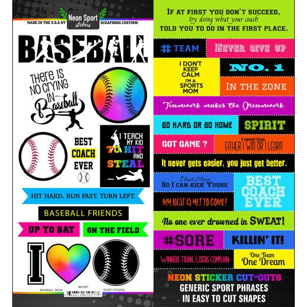 Scrapbook Customs Baseball