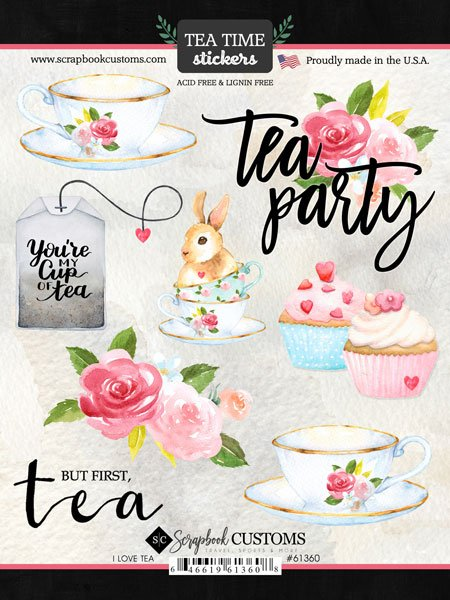 SBC Tea Time Stickers