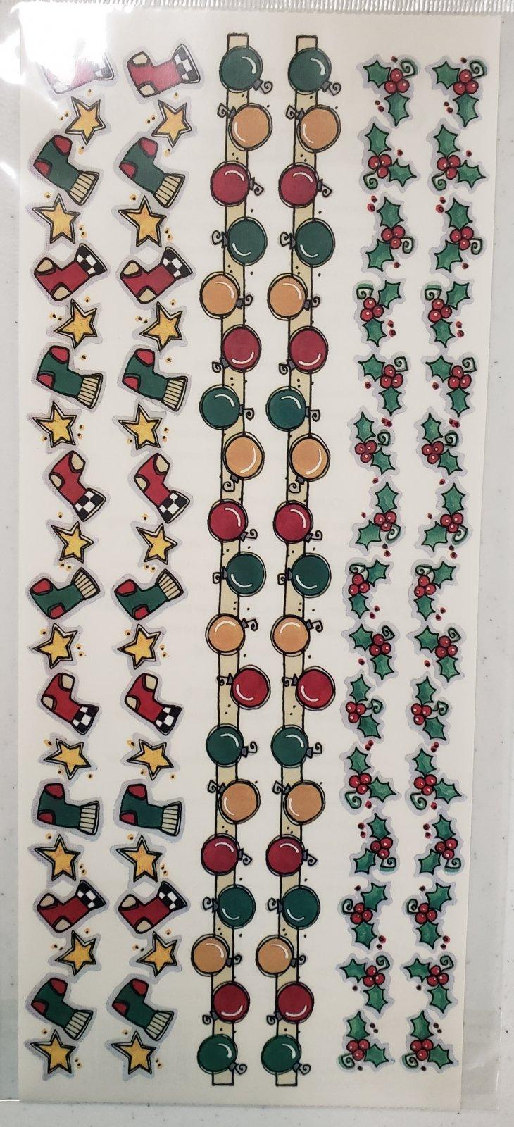 Sticker Roos Christmas Borders