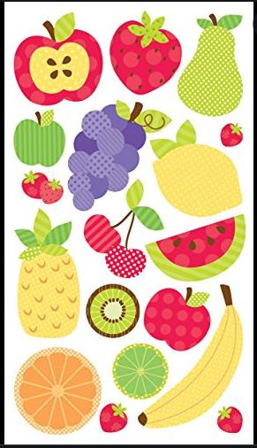 Sticko Fruit Galore Epoxy