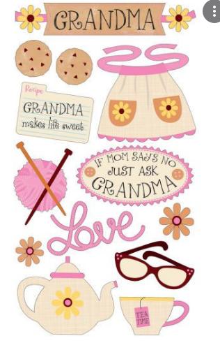 Sticko Family Grandma 2