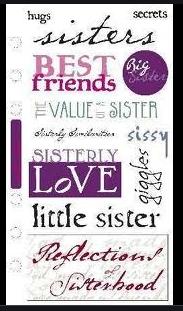 Sticko Family Sisterly Love