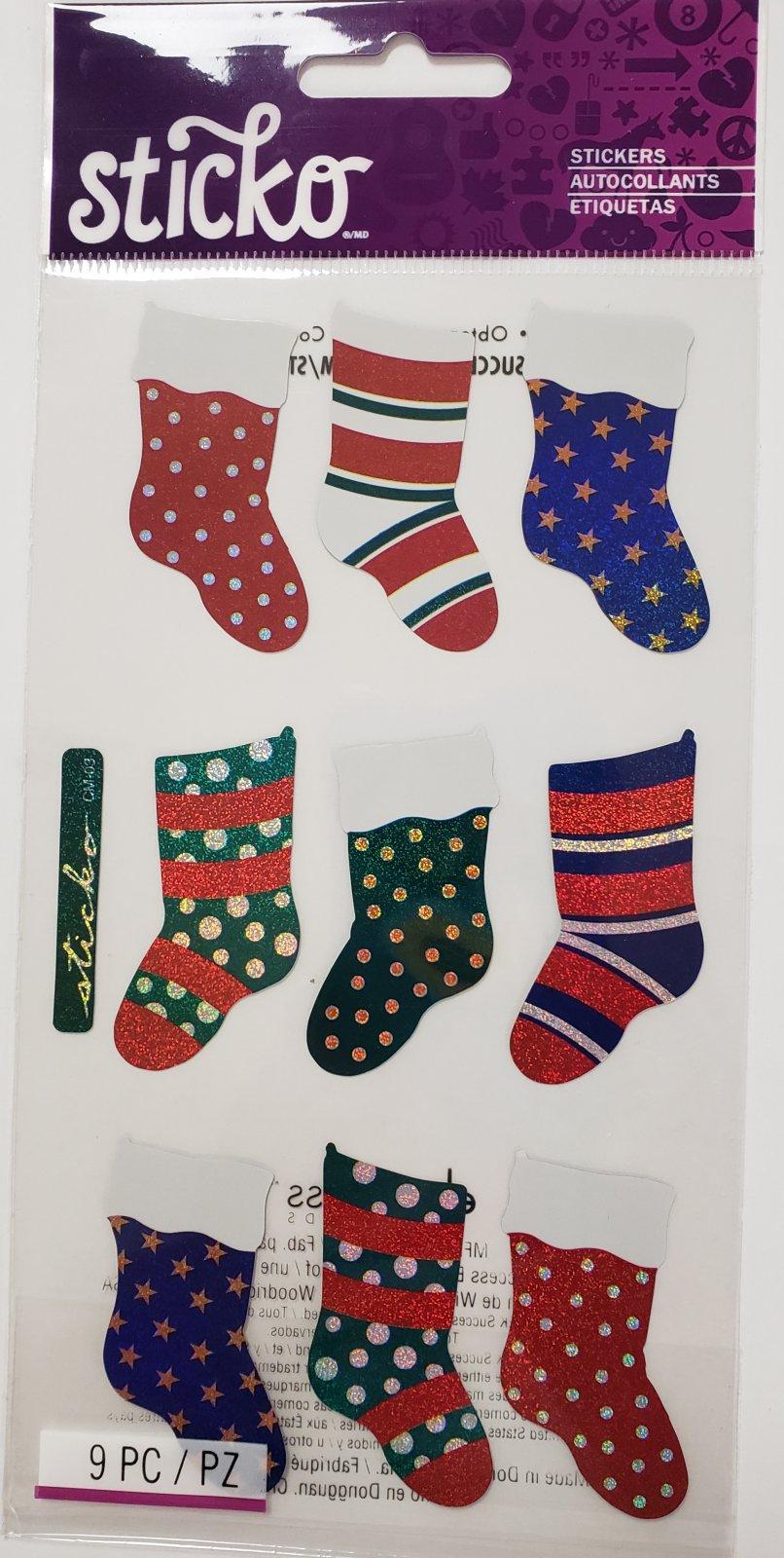 Sticko Christmas Stockings