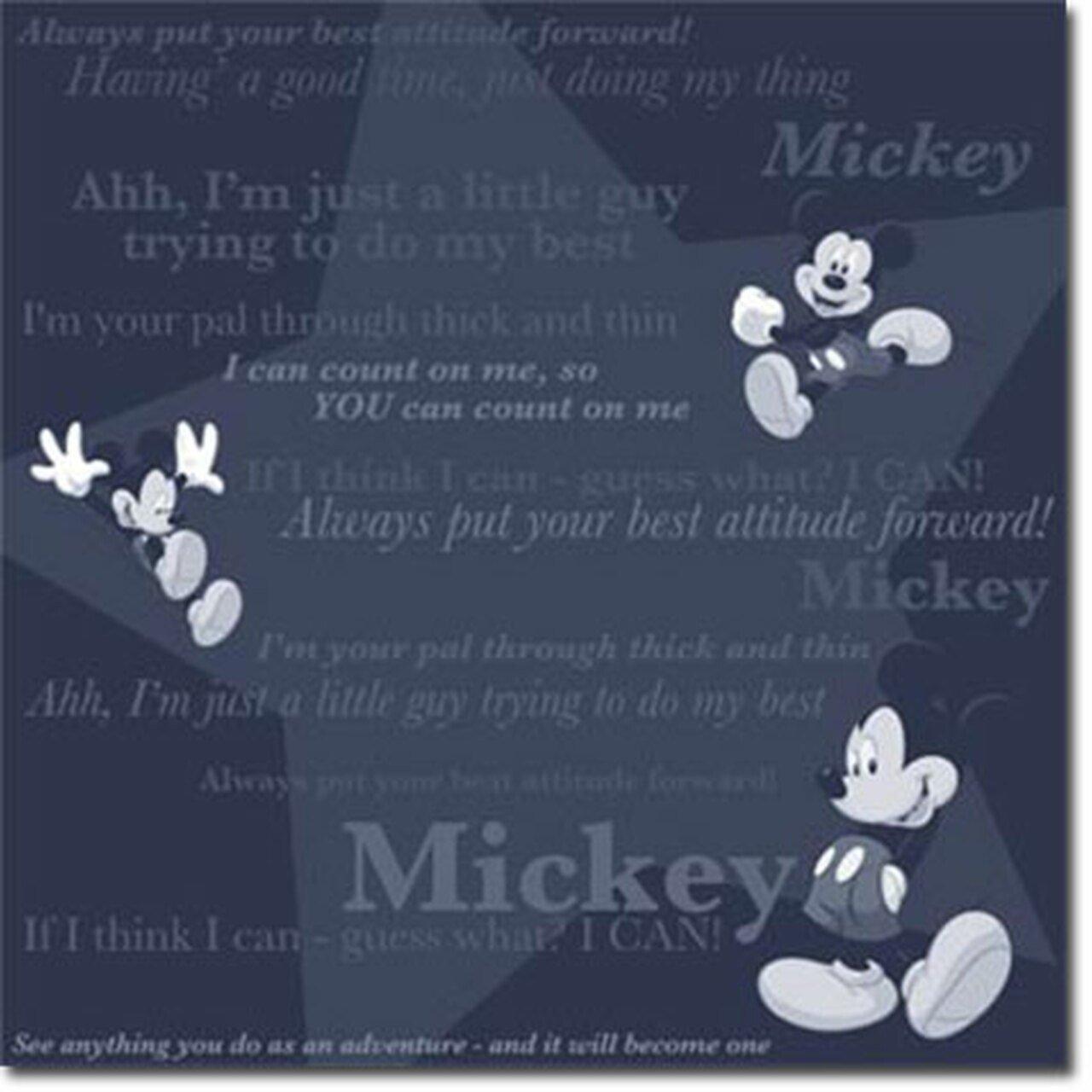Mickey I Can